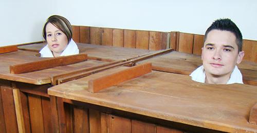 pareja baño cajon tipo banner